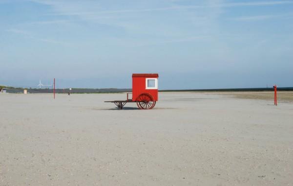 Wagen am Strand
